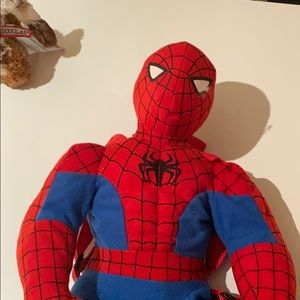 Spider-Man backpack toy